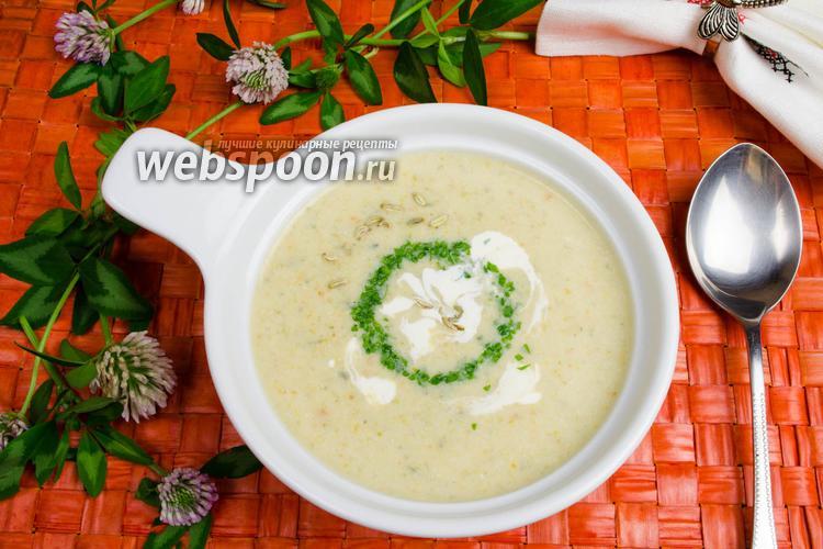 Фото Овощной суп со сливками в мультиварке