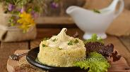 Фото рецепта Запеканка из капусты и творога в мультиварке