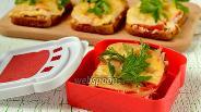 Фото рецепта Горячие бутерброды с ржаным хлебом