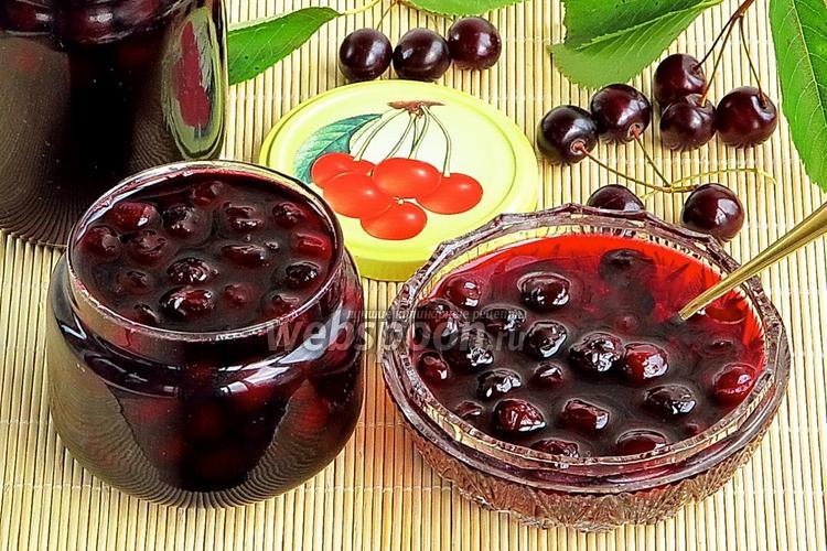 Фото Варенье из вишни с косточкой