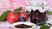 Фото рецепта Варенье из яблок и слив