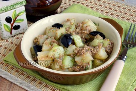 Салат из картофеля с тунцом