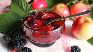 Фото рецепта Яблочно-ежевичное варенье