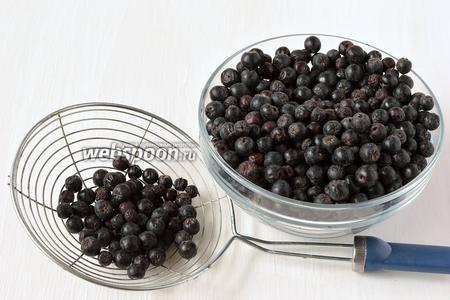 как приготовить черноплодную рябину протертую с сахаром