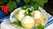 Фото рецепта Картофельные галушки с мясом