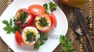Фото рецепта Яичница в помидоре в микроволновке
