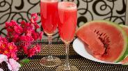 Фото рецепта Розовое «шампанское»