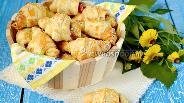 Фото рецепта Круассаны с ветчиной и сыром