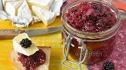 Фото рецепта Чатни из яблок и ежевики