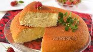 Фото рецепта Индийский бисквит без яиц в мультиварке