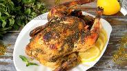 Фото рецепта Курица запечённая с затаром