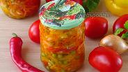 Фото рецепта Салат овощной «Дунайский» на зиму