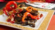 Фото рецепта Пикантная баклажановая закуска