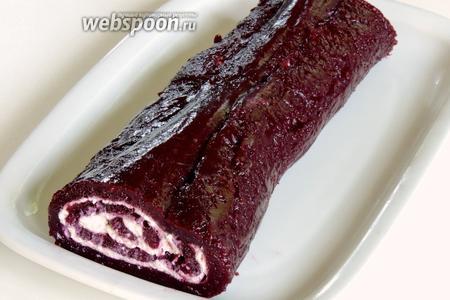 Осторожно перекладываем на десертное блюдо и приятного аппетита! Хранить только в холодильнике.
