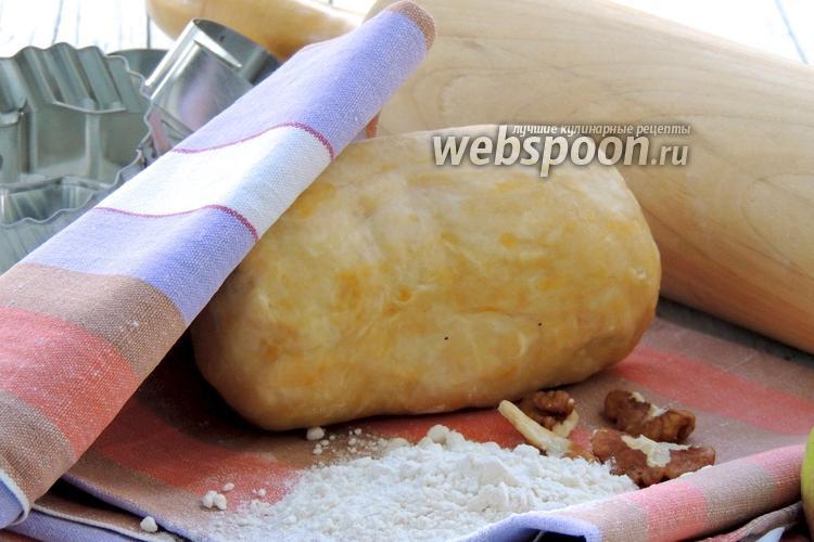 Фото Песочное тесто на сметане