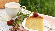 Фото рецепта Бисквит со сгущённым молоком в мультиварке