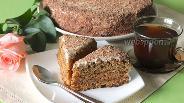 Фото рецепта Торт «Медовик» ореховый