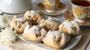 Фото рецепта Слоёные пирожные с кремом