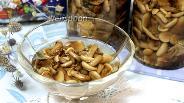 Фото рецепта Опята в сладком маринаде