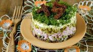 Фото рецепта Салат «На траве дрова»