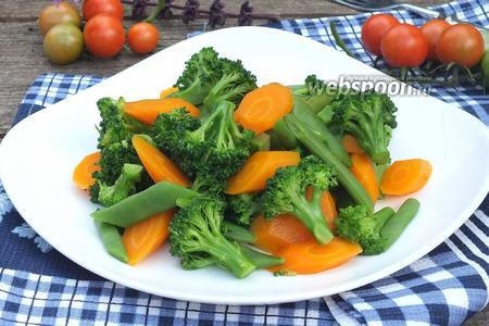 Фото рецепта Овощи «Al Dente»