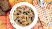 Фото рецепта Суп с грибами и мясом