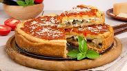 Фото рецепта Пирог-пицца по-чикагски
