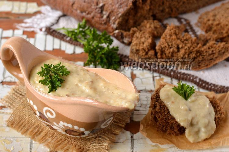 Фото Грибной сливочный соус