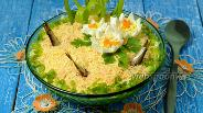 Фото рецепта Салат «Рыбки в пруду»