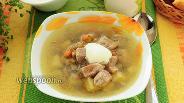 Фото рецепта Суп с чечевицей в мультиварке