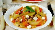 Фото рецепта Кабачки по-гречески в мультиварке