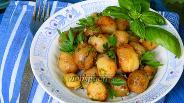 Фото рецепта Жареный молодой картофель