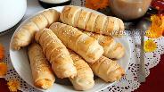 Фото рецепта Булочки с плавленым сыром