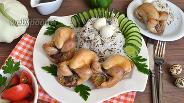 Фото рецепта Перепела фаршированные овощами