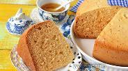 Фото рецепта Медовый бисквит в мультиварке