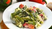 Фото рецепта Запеканка из брокколи с беконом