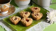 Фото рецепта Песочные кексы с мармеладом