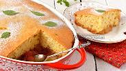 Фото рецепта Пирог с карамелизованными яблоками