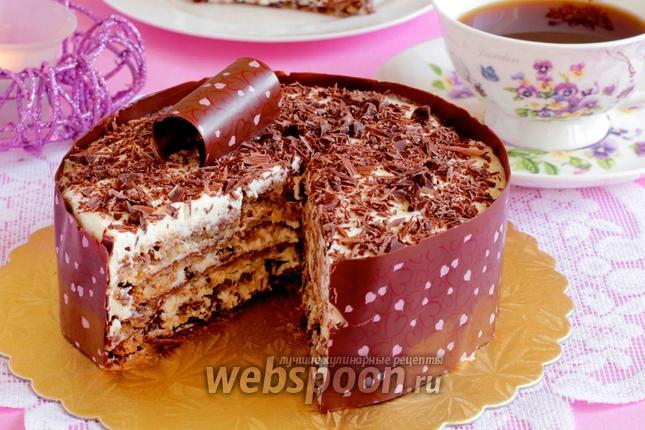Фото Итальянский ореховый торт