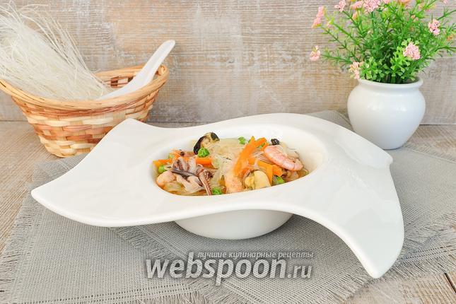 Фото Фунчоза с морепродуктами
