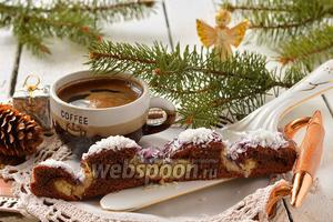 Шоколадно-кокосовый пирог «Снежный ангел»