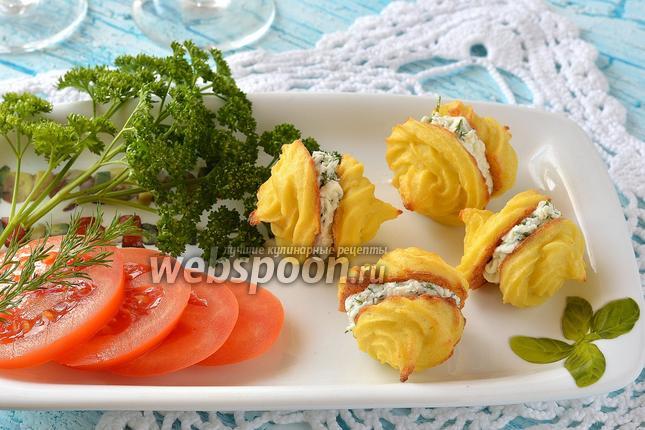 Фото Закусочные пирожные из цветной капусты