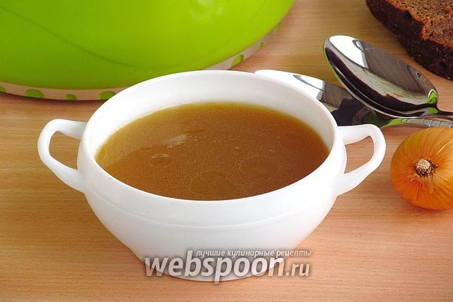 Фото Базовый рецепт приготовления костного бульона