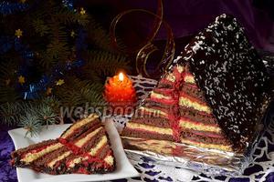 Торт «Карнавальная ёлочка»