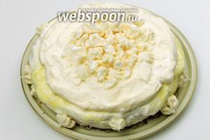 Наш торт 3 в 1 «Три Шампанских» можно сервировать и праздновать праздник. С Новым Годом! С Новым счастьем! Ура!