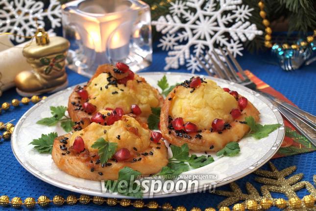 Фото Картофельные горки с рыбным филе