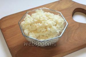 Рис для суши готов.