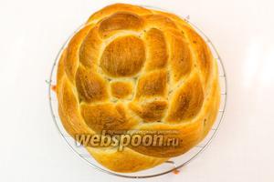 Творожный хлеб готов. Приятного аппетита!
