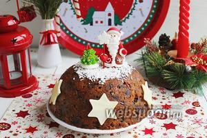 Рождественский кекс-пудинг