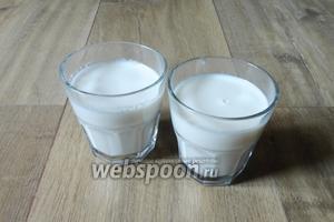 Кедровое молоко готово, осталось только процедить. Подавать сразу, можно добавить мёд или щепотку корицы.